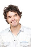 Smiling Handsome Man Portrait Royalty Free Stock Photography