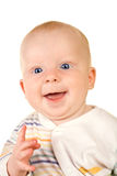 Smiling happy baby Royalty Free Stock Photography
