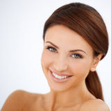 Smiling Happy Beautiful Woman Royalty Free Stock Photography