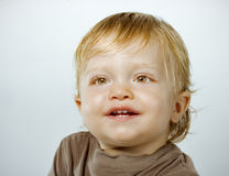 Smiling happy boy portrait Stock Images