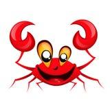 Smiling happy crab Royalty Free Stock Photo