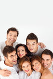 Smiling happy friends Royalty Free Stock Image
