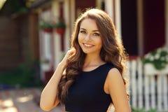 Smiling happy girl Stock Photo