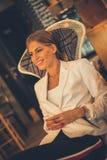 Happy woman. stock photos