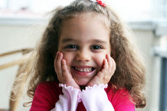 Smiling happy kid Royalty Free Stock Photo
