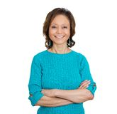 Smiling happy woman Royalty Free Stock Photography
