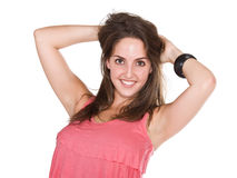 Smiling happy woman Royalty Free Stock Images