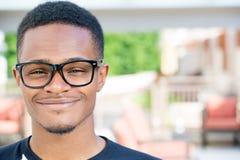 Smiling headshot Stock Photo