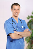 Smiling healthcare professional Royalty Free Stock Photography