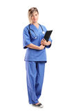 Smiling healthcare professional Stock Image