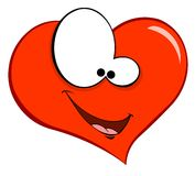 Smiling heart Stock Photography