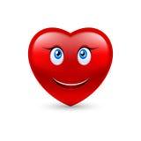 Smiling heart Stock Photos