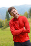 Smiling hiker Royalty Free Stock Photos