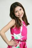 Smiling hispanic girl Stock Images