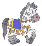 Smiling horse cartoon Royalty Free Stock Photos