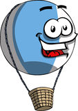 Smiling Hot air balloon Royalty Free Stock Photos