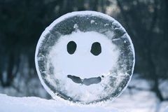Smiling Ice Stock Photography