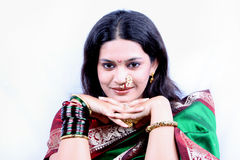 Smiling Indian Beauty Royalty Free Stock Photos
