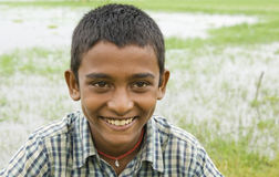 Smiling Indian Boy Royalty Free Stock Photos