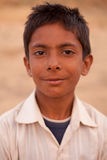 Smiling Indian boy near Karauli in India Stock Image