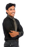 Smiling Indian business man Royalty Free Stock Image