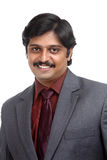 Smiling Indian business man portrait Royalty Free Stock Images