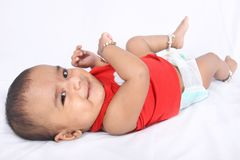 Smiling Indian Cute Baby Royalty Free Stock Photo