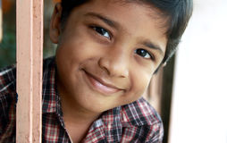 Smiling Indian Cute Boy Royalty Free Stock Photography