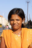 Smiling Indian Girl Royalty Free Stock Photography