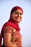 Smiling indian girl. Beautiful shot of smiling indian punjabi girl Stock Photo
