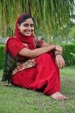 Smiling indian girl. Beautiful shot of smiling indian punjabi girl Stock Image