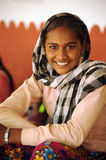 Smiling Indian girl. Rajasthan, India. Stock Photo