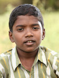 Smiling Indian little boy in outdoor Royalty Free Stock Images