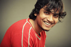 Smiling Indian young man Royalty Free Stock Photos