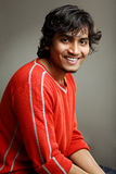 Smiling Indian young man Royalty Free Stock Images
