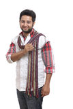 Smiling indian young man Stock Photo