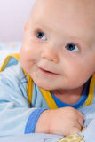 Smiling infant. Stock Images