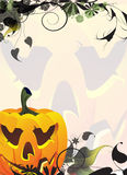 Smiling Jack O lantern Royalty Free Stock Images