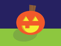 Smiling Jack O Lantern Royalty Free Stock Photos