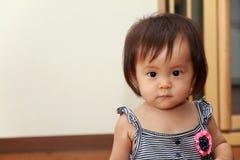 Smiling Japanese baby girl Stock Photos