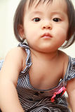 Smiling Japanese baby girl Royalty Free Stock Photography