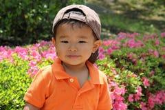 Smiling Japanese boy Stock Photography