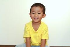 Smiling Japanese boy Stock Photo