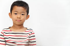 Smiling Japanese boy Stock Images