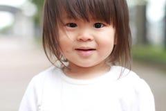 Smiling Japanese girl Royalty Free Stock Photos