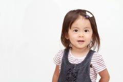 Smiling Japanese girl Stock Photos