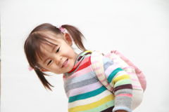Smiling Japanese girl Royalty Free Stock Photo