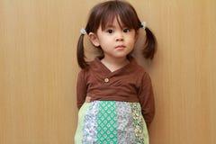 Smiling Japanese girl Royalty Free Stock Image
