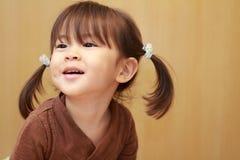 Smiling Japanese girl Stock Image