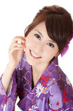 Smiling Japaneses woman Royalty Free Stock Image